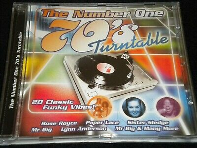 The Number One 70's Turntable - CD Album - Various Artists - 20 Tracks