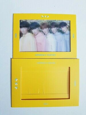 """K-POP TXT Clear Photocard 1st Album """"The Dream Chapter : STAR"""" Official"""