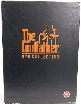The Godfather Trilogy DVD Collection: Parts I, II & III, + Special Features Disc