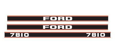 Ford 7810 Tractor Decal Set