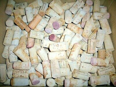 Lot 400+,Real,Natural Used Wine Corks,USA + International Brands,Premium Variety