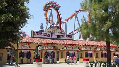 **4 Tickets Knotts Berry Farm Adult or Child Admissions**