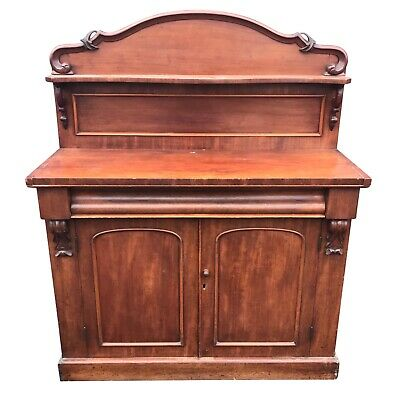 Charming Antique Victorian Chiffonier Side Buffet Table Storage Cupboard Cabinet