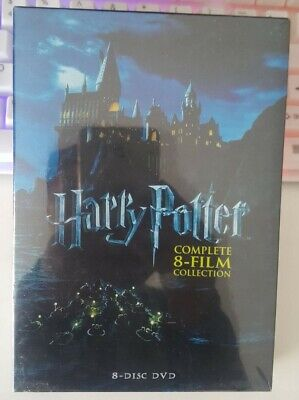 (FREE SHIPPING)Harry Potter Complete 8-Film Collection DVD, 2011, 8-Disc Set