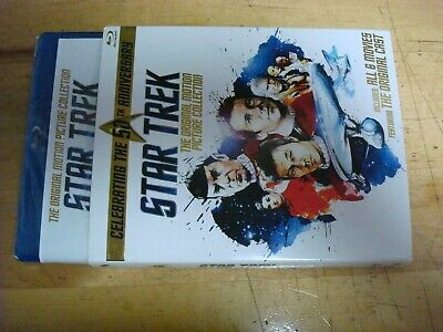 STAR TREK ORIGINAL MOTION PICTURE COLLECTION Blu-ray 6 Films 50th Anniversary