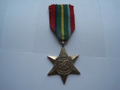 Original Ww2 Pacific Star Medal,good Condition