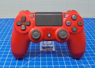 Official Sony Playstation 4 Dual Shock PS4 Wireless Controller - RED - SDSPR