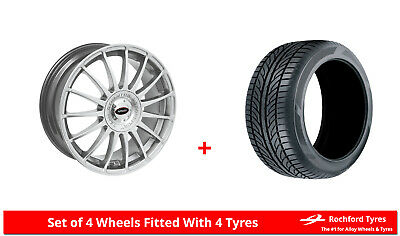 """Alloy Wheels & Tyres 15"""" Team Dynamics Monza R For Ford Courier 91-06"""