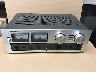 kenwood integrated amplifier KA -405