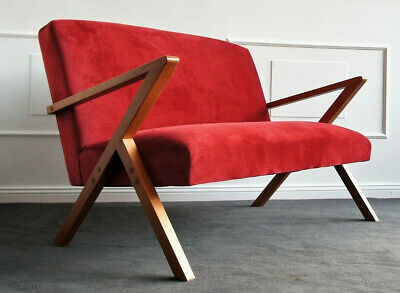 Mid Century Bauhaus Danish Design Sofa Daybed Couch 60s 60er Relax Praxis Büro