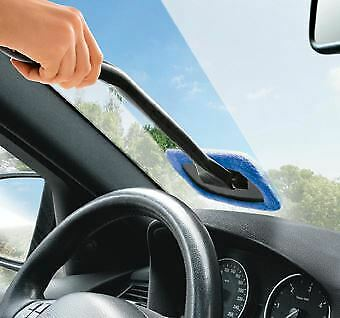 Streetwize Microfibre Long Reach Windscreen Glass Easy Cleaner Demister Pad