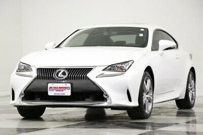 2015 RC RC 350 Lexus Obsidian Coupe 3.5L V6 AWD Used Heated Cooled Leather Sunroof Camera Navigation Coupe 14 2014 15 16