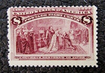 nystamps US Stamp # 236 Mint OG H $53