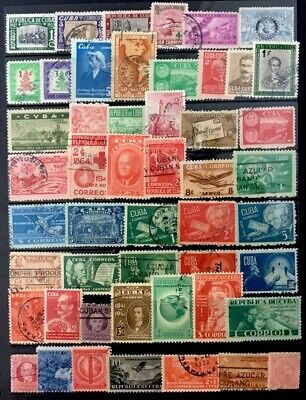 50Cuba Stamps  All  Different  Lot 31819M