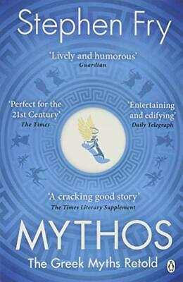 Mythos: The Greek Myths Retold by Fry, Stephen, NEW Book, (Paperback) FREE & Fas