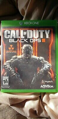 Call of Duty: Black Ops III (Microsoft Xbox One, 2015)