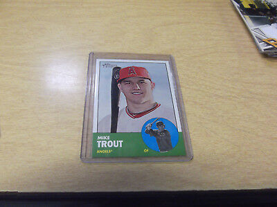 2012 Topps Heritage Baseball Complete Mint Set #1-#425 W/ Mike Trout Rc Card