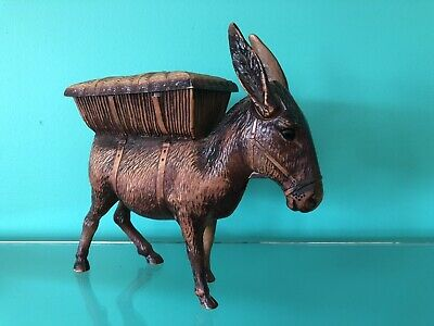 Vintage Retro Collectable Donkey Cigarette Dispenser 1950's Plastic