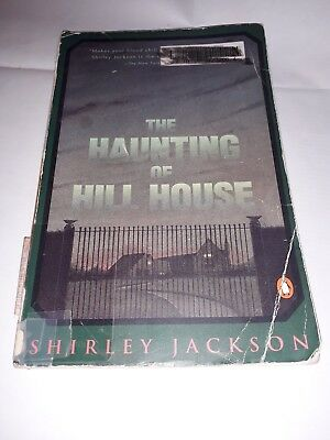 The Haunting of Hill House, Shirley Jackson, 1987 ex Seattle Public Library book