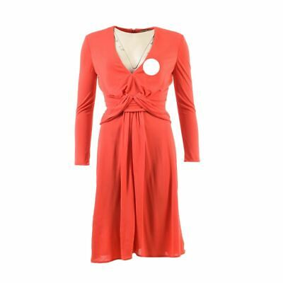6c15220e462 ROBE LONGUE ROUGE chiné simili cuir - New Look - Taille XS - EUR 6 ...