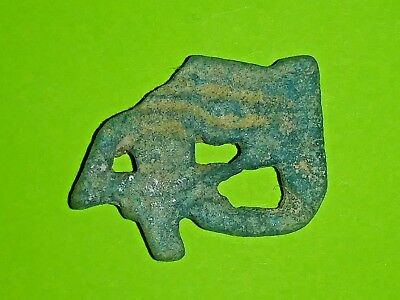 Ancient Egyptian Eye of Horus Amulet 800 BC-500 BC openwork design Faience Egypt
