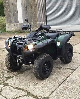 PLG Road Legal Yamaha Grizzly 700 Quad Bike, Green, 700cc, Power Steering etc