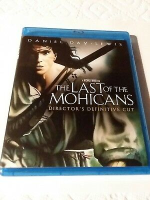 The Last of the Mohicans (Blu-ray Disc, 2010) like new