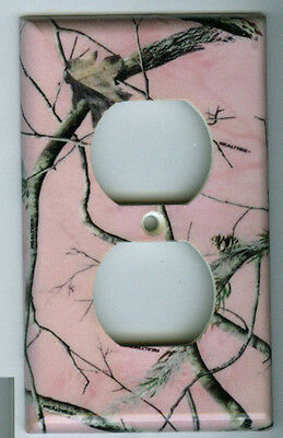 Realtree PINK Outlet Cover Camo Deer Hunting Duplex Single Plate Reeltree