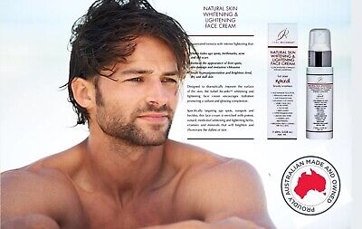 Men's Face Skin Whitening & Lightening Cream Concentrated Skin Treatment Strong
