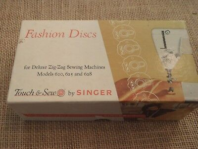 Singer Top Hat Fashion Discs Deluxe Zig Zag Sewing Machine 620 625 628 Touch Sew