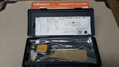 "Japan Mitutoyo 500-197-20/30 200mm/8"" Absolute Digital Digimatic Vernier Caliper"