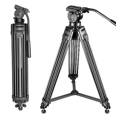 155cm Aluminum Alloy Camera Tripod with 360 Degree Pan Head for Video Camcorder