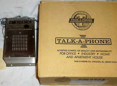 TALK A PHONE Model ETP-100MVB EMERGENCY PHONE USA Made ADA STAINLESS STEEL NEW