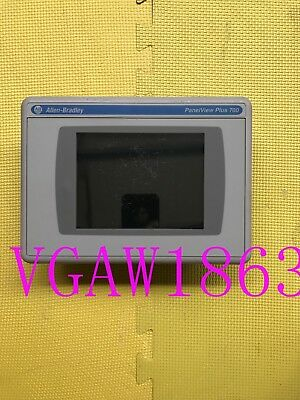 1PC Used 2711P-T7C4A9 2711P-RP9A  ALLEN-BRADLEY Tested