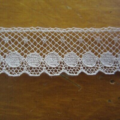 100cm Vintage Antique Cotton Lace French Cream Heirloom Doll Sewing 1930s 1940s