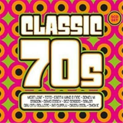 CLASSIC 70's feat. Billy Ocean, Boney M, Air Supply, Daddy Cool & Smokie 5CD NEW