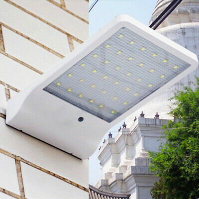 36LED Solar Power Motion Sensor Garden Security Lamp Outdoor Waterproof Light S&