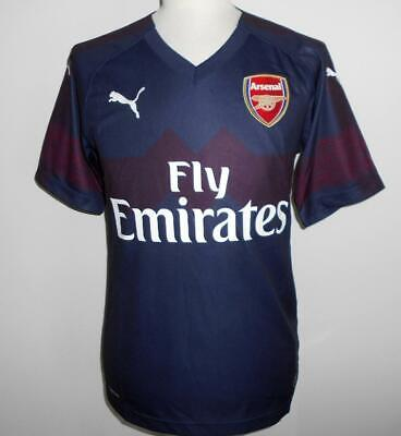 763319fb7 ARSENAL FC Official Puma Away Football Shirt 2018-2019 NEW Men's Soccer  Jersey