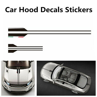 NEW Car Head Hood Decals Stripe For Benz AMG A C E G Class Concept Coupe CLS E53