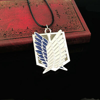 Attack on Titan Wings of Freedom Pendant Necklace Cosplay Anime Gift