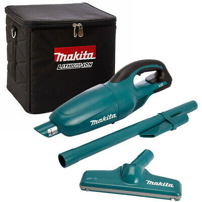 Makita DCL180Z 18V LXT Cordless Vacuum Cleaner With 831373-8 Cube Tool Bag