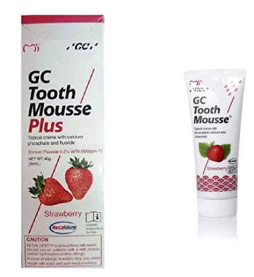GC Tooth Mousse Plus ( Strawberry Flavor )  (40 gm)