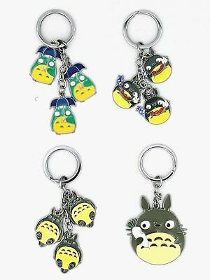 cute japanese anime my neighbor totoro ghibli keychain phone strapmy neighbor totoro metal keychain bag car key ring fan student gift