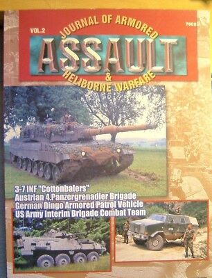 Journal of Armored Assault & Heliborne Warfare...Volume 2...Concord Publications