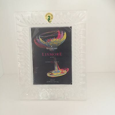 Waterford Lismore Crystal Frame 60th Anniversary RRP $199.00