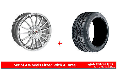 """Alloy Wheels & Tyres 17"""" Team Dynamics Monza R For Ford Tourneo Courier 14-19"""
