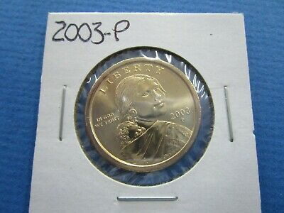 2003 -P SACAGAWEA Golden Dollar Native American PROOF LIKE  Coin US Mint
