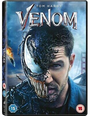 Venom DVD New 2018 Region 2