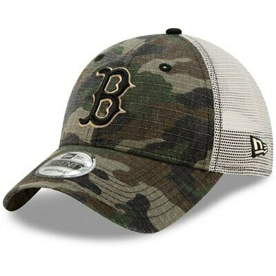 ca36b88440903d New Era Boston Red Sox Camo Tonal Trucker 9TWENTY Adjustable Snapback Hat