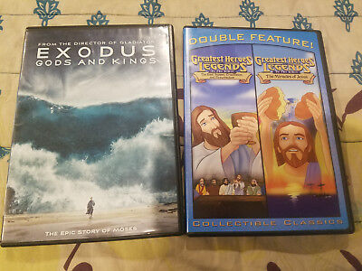 Exodus Gods and Kings Moses + Miracles of Jesus Crucifixion Resurrection Easter